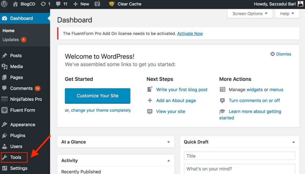 How to Backup Your WordPress Pages or Posts and Reuse Them on a New Site 3