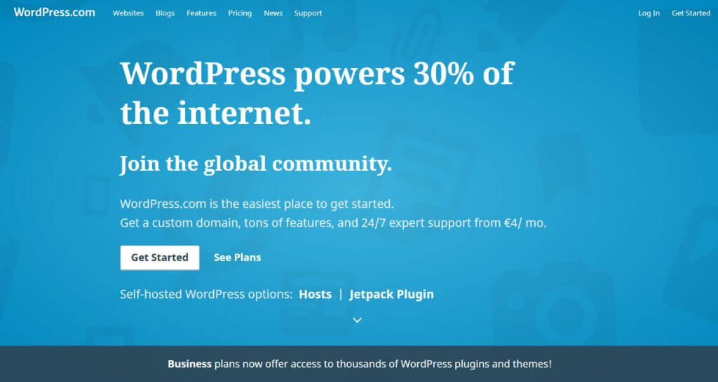 WordPress.Com and WordPress.Org
