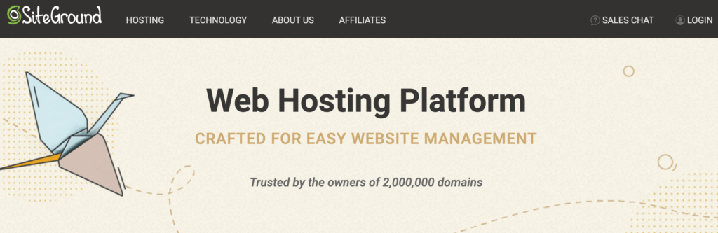 best web hosting services SiteGround
