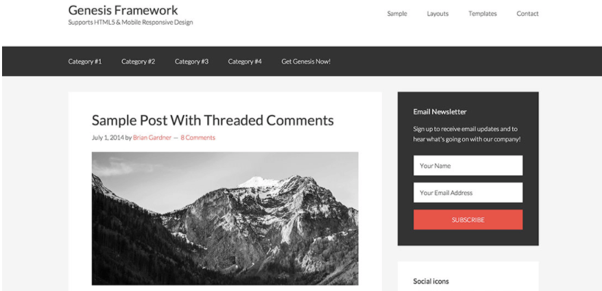 5+ Best WordPress Blogging Themes for Bloggers 4